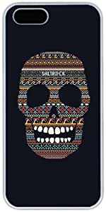 Funny Skull Apple iPhone 5 5S Case, iPhone 5 5S Cases Hard Shell Cover Skin Cases
