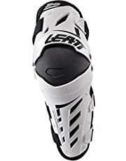 Leatt White Large/X-Large Knee and Shin Guard Dual Axis