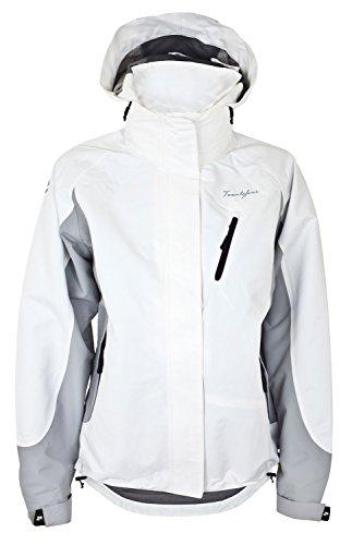 Twentyfour Damen Funktions-Jacke Blaff - für besten Wetterschutz bei Wind und Regen, weiß, 44, 449274