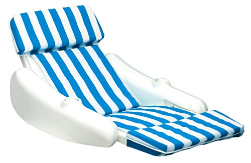 Swimline Sunchaser Padded Floating Lounger (Pool Chairs Plastic)