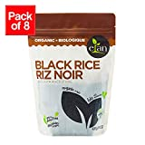 ELAN Organic Ancient Black Rice (GMO & Gluten Free), 8 Count, 426g