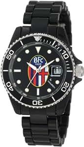 Haurex Italy Women's BC339XN1 Sport-R Bologna Rotating Bezel Black Date Watch