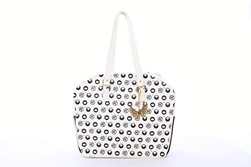- Cortiglia White Royal Designer Tennis Bag Embellished by Marion Bartoli