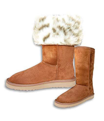 600d6b007be PAWJ California Tall Vegan Fur Lined Boot