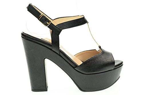 Sandale L'Amour Nero Femme 335 MIU80 Noir qwg6T5xgY