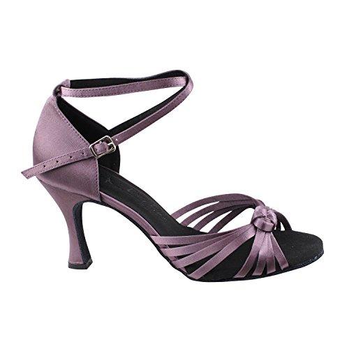 Comfort Ballroom Women Gold Lavender Swing SERA1700 High Heel Dance Shoes Pump Swing Medium Tango 3780 Latin Latin Party Party Tango Shoes Evening Satin Shoes Dress Pigeon Salsa Wedding Salsa rqwPqx7X