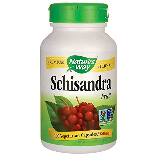 Schisandra Berry - Nature's Way Schisandra Fruit -- 100 Capsules