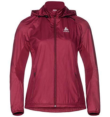 Rumba Donna X Irbis Rosso Jacket warm Odlo Element Giacca x8RH4wqWB