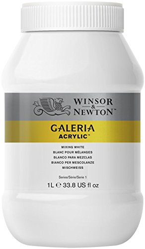 Winsor & Newton 1L Galeria Acrylic Paint - Mixing White