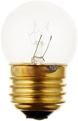 Westinghouse Lighting 0456400 130 Volt Clear Incandescent S11 Light Bulb 2500 Hour 52 Lumen 7-1//2 Watt