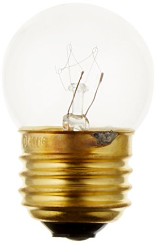 Westinghouse 0456400, 7-1/2 Watt, 130 Volt Clear Incandescent S11 Light Bulb, 2500 Hour 52 Lumen