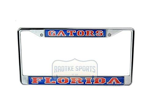 Chrome Ncaa Frame - Florida Gators Officially Licensed NCAA Domed Chrome Tag Frame