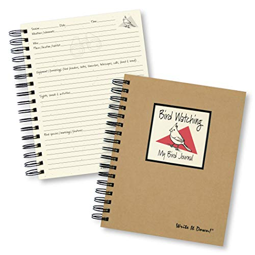 - Bird Watching Journal (Natural Brown) (Write It Down Series)
