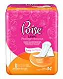 Poise Pantyliner Super Abs, Xtra Coverage,44/Pk