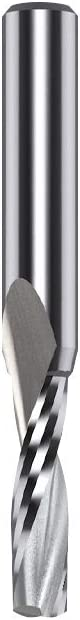 CMT 191.005.11 Solid Carbide Upcut Spiral Bit 1//4-Inch Shank 3//16-Inch Diameter by 2-Inch Length