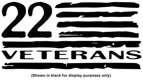 Stop Trail Boots (Stop The Twenty-Two 22 Veteran Military Suicide Awareness Prevention Decal for YETI 30 oz Rambler Tumbler Cup (DECAL ONLY) Glossy Permanent Vinyl, White, W 4