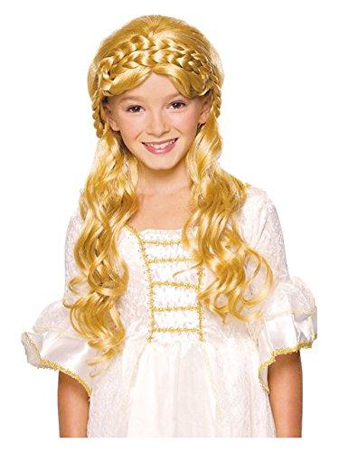 Girls Storybook Blonde Wig (Girl's Blonde Enchanted Wig)