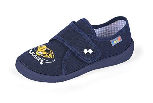 De Ce Zapatillas Para Algodón Dunkelblau Estar Azul Casa Niño Yaro Por Pq5zUU
