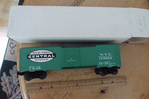 Collectible New York Central Railroad (K-Line K7609 O Reefer ND 173524 New York Central System Boxcar)