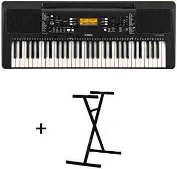 Pack Yamaha psr-e363 + Stand: Amazon.es: Instrumentos musicales