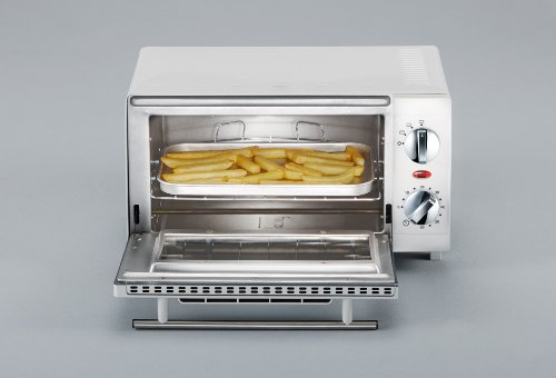 Severin TO 2054 - Mini horno tostador, 800 W, color blanco: Amazon.es: Hogar