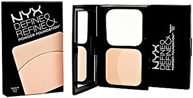 NYX Define & Refine Powder Foundation 02 Light: Amazon.es: Belleza
