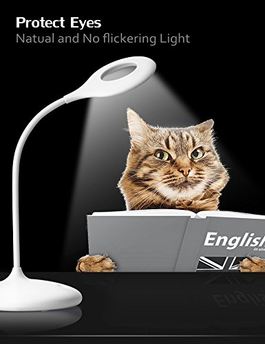 Imimon Led Desk Lamp Touch Control And 3 Dimming Levels