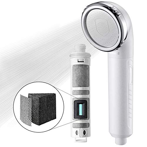 - Miniwell Shower Head Filter L750 - Filtered Shower head - Shower Filter - Remove 99% chlorine and water impurifies (Shower Head without Hose)