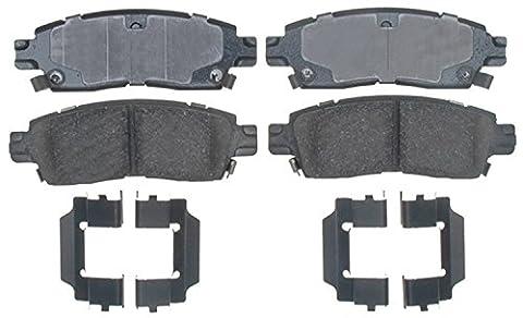 ACDelco 17D883CH Professional Ceramic Rear Disc Brake Pad Set (2004 Gmc Envoy Brakes)