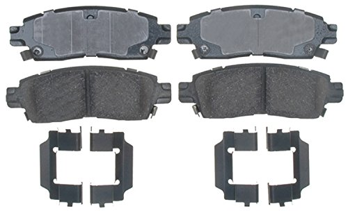 ACDelco 17D883CH Professional Ceramic Rear Disc Brake Pad Set ()