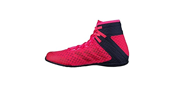 e331ad2142f5c adidas Speedtex 16.1 Mens Adult Boxing Trainer Shoe Boot Red/Black ...