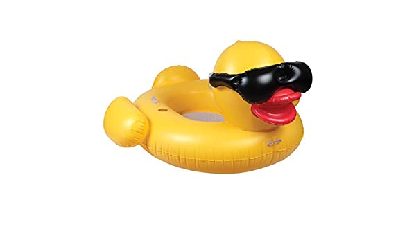 GAME 51901-BB Derby Duck - Pato Hinchable Gigante de Malla ...