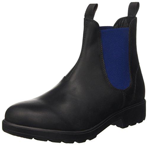 Jasper Nero Uomo Collo a Blue Docksteps Alto Black Scarpe 4xYqHU4wCd