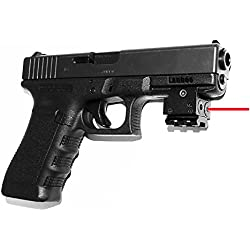 Tactical Gun Rifle Pistol Red Dot Laser Sight, Adjustable Compact Sight Fit 20mm Standard weaver and Picatinny Rails