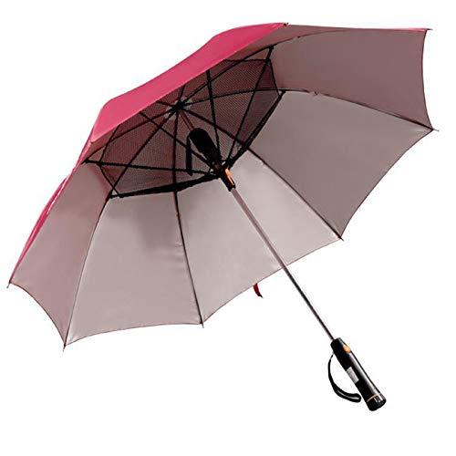 frische Brise f/ür den Au/ßenbereich Sonnenschutz UV-Ventilator Regenschirm Syfinee Regenschirm