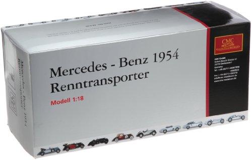 1/18 メルセデスベンツ レーシングカートランスポーター 1954 ブルー M-036