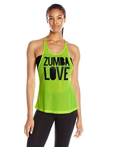 Zumba Women's Love Mesh Tank Top