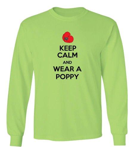 BestSyracuse Keep Calm and Wear A Poppy Long Sleeve - Poppy Syracuse