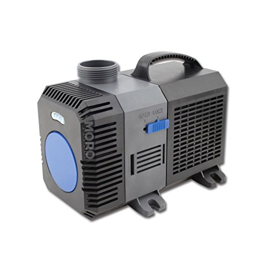 Gph 16 Foot Cord (ZOIC Water Submersible Aquarium Pump, 140W,4226 GPH, 110 Volts, 16 Foot Power Cord, Fish Tanks,Garden Pool Fountain Pumps)