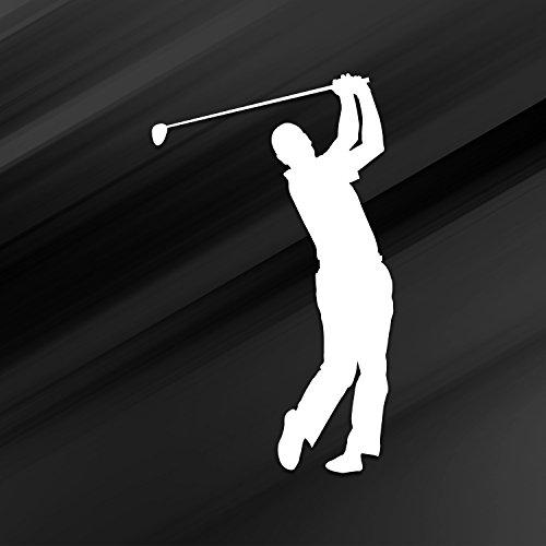 Vincit Veritas Golf Stickers Golf Decal Golf Sticker Golf Decals White Vinyl Decal Sticker | Premium Quality | 5.5 Inch | D022-W