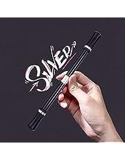 Akemaio Draaibare draaistift, draaibaar speelgoed, slijtvaste draaiende pen, rollende vinger, roterende decompressiepen, geschenken voor kantoormedewerkers en studenten
