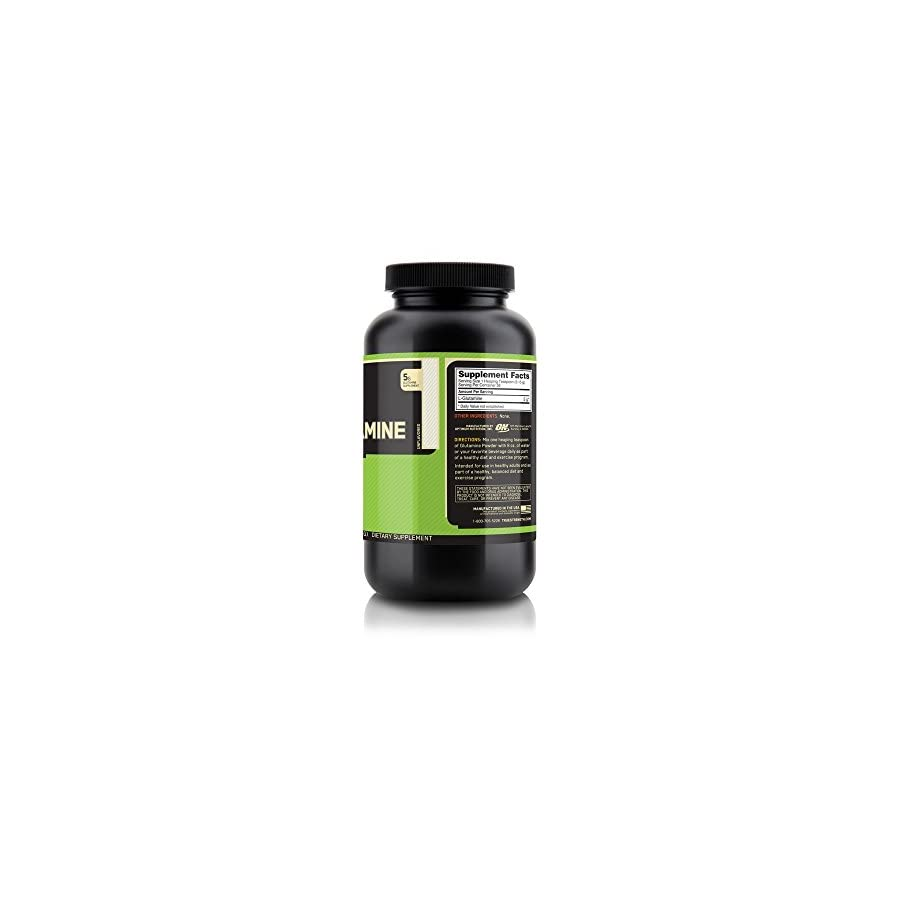 Optimum Nutrition L Glutamine Muscle Recovery Powder, 300g