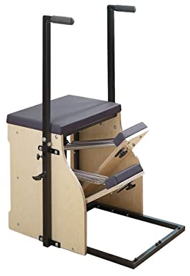 Stott Pilates Split-Pedal Stability Chair with Handles by Stott Pilates