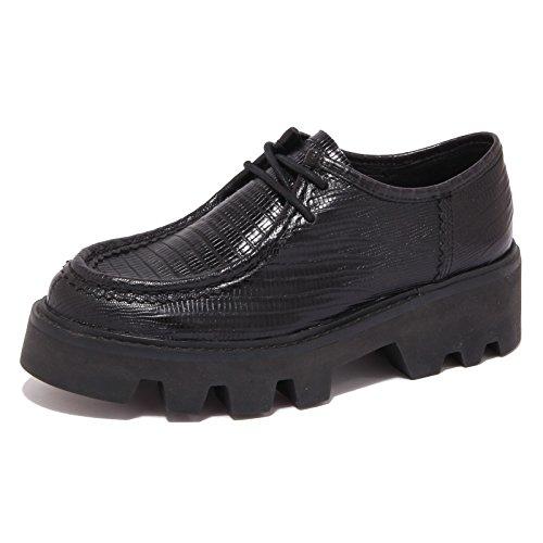 6165r Scarpa Donna Ash Snoopie Scarpe Nera Chaussures Femme [40]