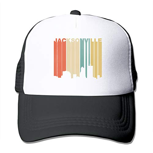 Guwafa8 Retro 1970's Style Jacksonville Florida Skyline Adjustable