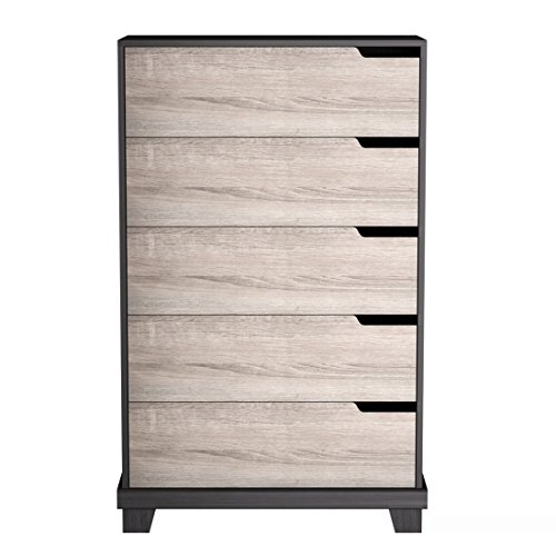 homestar eb109186js waterloo 5 drawer