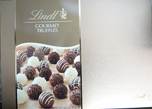 Lindt Chocolate Gift Box, Gourmet Truffles, 14.5 Ounce