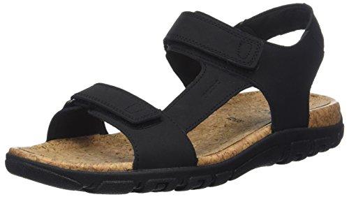 Pulsera Strada Uomo Hombre Sandal black C Sandalia Geox Negro Con Para xwYOqx