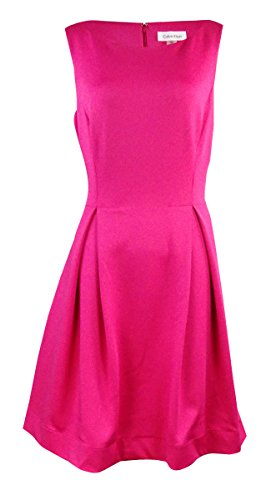 calvin klein a line pleated dress - 6