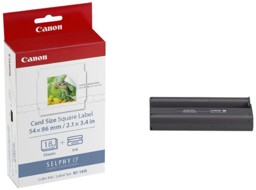 Price comparison product image Canon Office Products KC-18IS Card Size Sticker